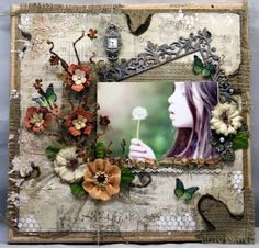 These Days ~~Swirlydoos~~ - Scrapbook.com ..created by Lvalent3 (18-Mar-12 onto Scrapbook Layout's.