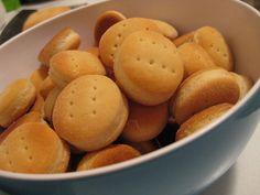 Biscochos de grasa con malta