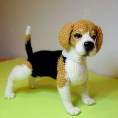 Amigurumi Do Zero Knit Or Crochet, Cute Crochet, Crochet Crafts, Crochet Dolls, Crochet Baby, Crochet Projects, Crochet Dog Patterns, Amigurumi Patterns, Knitted Animals
