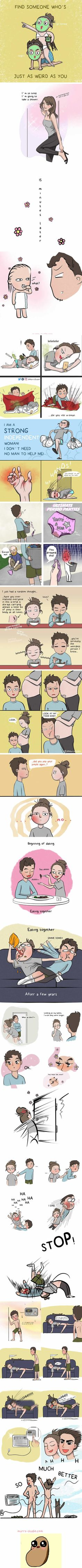 13 Adorable Comics Show What It's Like To Be In A Comfortable Relationship