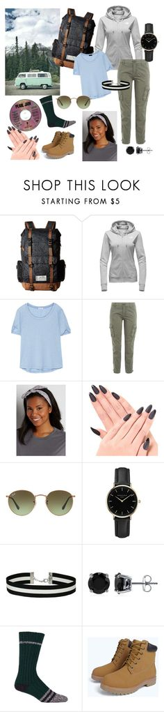 """""""Road Trip with Friends"""" by merylrs ❤ liked on Polyvore featuring Kavu, The North Face, Splendid, True Religion, maurices, Ray-Ban, ROSEFIELD, Miss Selfridge, BERRICLE and Woolrich"""