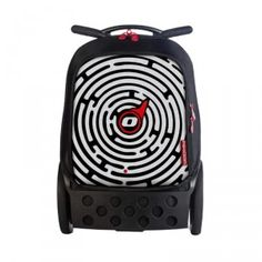 NIKIDOM Roller Labyrinth - húzható iskolatáska #okosodjvelunk Mochila Trolley, Lonely Planet, Baby Car Seats, Nike, School Lunch, Big Wheel, Back Pain, Full Figured, Modern Design