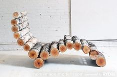 15 Amazing DIY Outdoor Furniture Ideas – Perfect Weekend Projects   1000 - Modern#amazing #diy #furniture #ideas #modern #outdoor #perfect #projects #weekend Rustic Log Furniture, Diy Outdoor Furniture, Furniture Ideas, Cabin Furniture, Western Furniture, Industrial Furniture, Antique Furniture, Furniture Design, Backyard Projects