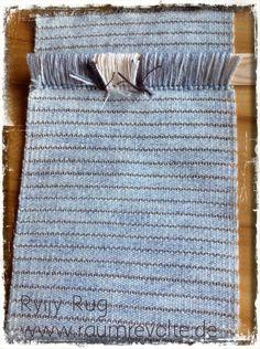 """Die erste Reihe des Rya Rug ist geschafft. Für das Motiv """"Old pine"""" der finnischen Designerin Taina Otsamo liegen nur noch 169 Reihen mit je 40 Knoten vor Dir. Das Näh-Set kannst Du in unserem Shop kaufen. #DIY"""