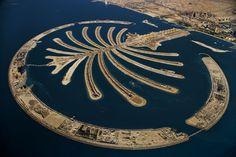 Palm Jumeirah artificial island, Dubai, United Arab Emirates | Photograph By Yann Arthus-Bertrand