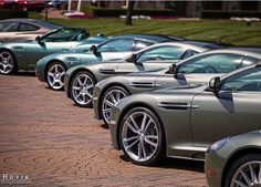Aston Martin DB11's