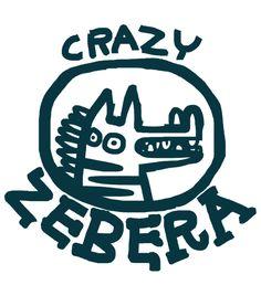Crazy Zebra by Richard Hogg