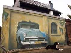 STREET ART - CAR - (StraatKunst)