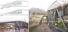 Mediateca Pumacahua, Mención Honrosa | Arquitectura en acero