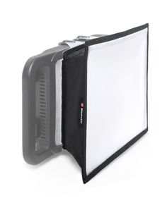 The LYKOS LED Softbox creates beautifully subtle lighting, softening the shadows in images. The diffuser film is specifically designed for LED Lighting and reduces light output by 1.3 f-stops. It collapses flat and can be easily stored in the fabric pouch included.