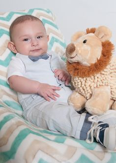 Baby Dylan, 4 month old session, Madrigal Photography
