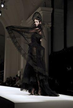 Georgina Stojilkovic at Jean Paul Gaultier Haute Couture spring/Summer 2009.