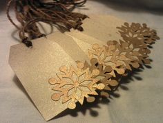 gift tags - going beyond the basic shape!