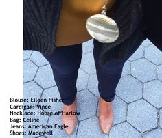 Eileen Fisher + Vince + House of Harlow + Celine + American Eagle + Madewell