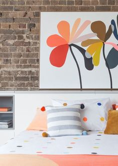 Castle · Multi Spot Bed Linen - The Design Files Design Your Home, House Design, Black Bed Linen, Bed Linen Design, Simple Bed, Foto Art, The Design Files, Diy Bed, Linen Bedding