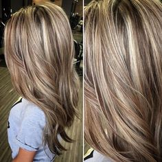Blonde With Brown Lowlights On Hairstyles Hair Blonde