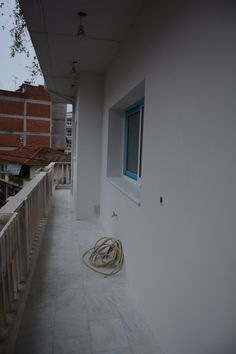 Insulation for external walls.