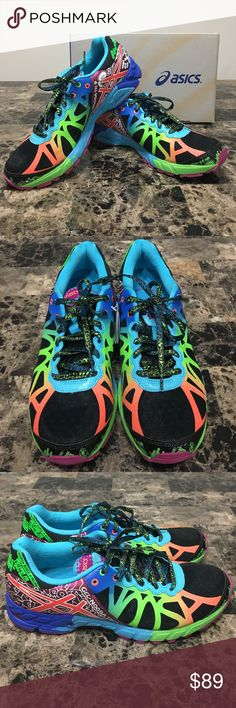 Asics Shoes - Brand New Asics Women's Gel Noosa Tri 9 Neon Colored Running 🏃 Shoes. Never worn and come with original box. Asics Shoes Sneakers