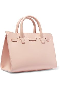 Mansur Gavriel | Sun mini mini leather tote | NET-A-PORTER.COM