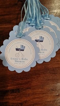 50 baby shower favor tags by charlotteandlily on Etsy, $45.00