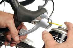 There's a lot of commercial pressure to simply replace bike parts that stop working or are a little worn, rather than attempting to