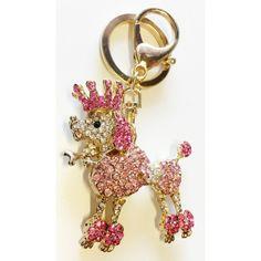 Crown Poodle Keychain