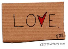 cardboard love <3