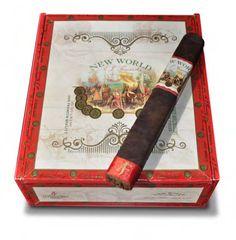 Shop Now New World By AJ Fernandez Gobernador Cigars - Oscuro Box of 21   Cuenca Cigars  Sales Price:  $109.95