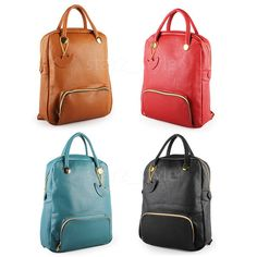 Details about Brand New Korean Travel Backpacks Simple Vintage ...