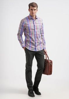 Tommy Hilfiger Tailored - JAK FITTED - Hemd - blue