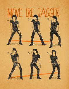 """Move like Jagger"" by Maximilian San"