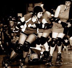 derby Derby Girls: Modern Day Superheroes
