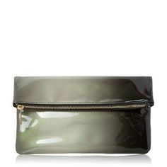 Head Over Heels by Dune Black 'Balley' ombre fold over clutch bag- | Debenhams