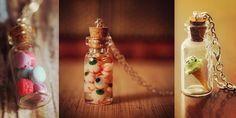 30 Collares que capturaron tus sueños en una botellita