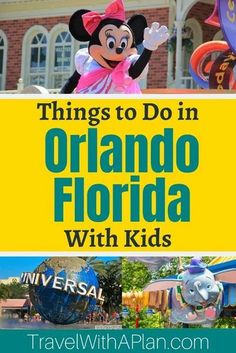 Our 6-Day Orlando Itinerary features all of the best things to do in Orlando! From Disney, Universal Studios, beaches, and the best hotels, you don't want to miss this epic post for some amazing family vacation inspiration! Click here now! Orlando | Things to do in Orlando | Family Travel | Best Family Vacation Spots | #orlandoitinerary #florida #floridawithkids #springbreak Best Family Vacation Spots, Family Vacation Destinations, Family Road Trips, Vacation Trips, Travel Destinations, Vacation Travel, Vacation Ideas, Orlando Vacation, Florida Vacation