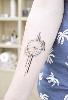 Este lindo relógio
