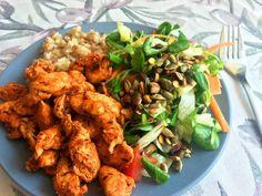 gyros-pác házilag Tandoori Chicken, Pesto, Hamburger, Grilling, Homemade, Ethnic Recipes, Food, Recipies, Home Made