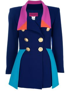 Colorblocked blazer