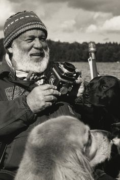 bruce weber with dogs