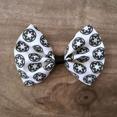 Star Wars Empire Hair Bow White by The Subtle Geek
