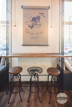 Bakery store Bakery Store, Black Coffee, Coffee Shop, Home Decor, Coffee Shops, Coffeehouse, Decoration Home, Room Decor, Home Interior Design