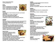 Catering Menu part 2