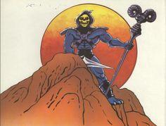 Skeletor on the mountain