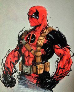 Deadpool | Deadpool+Venom Fanart