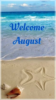 August shared by eladvi on We Heart It New Month Greetings, Good Morning Greetings, Good Morning Wishes, Days And Months, Summer Months, Months In A Year, 12 Months, Hello August Images, Hello December