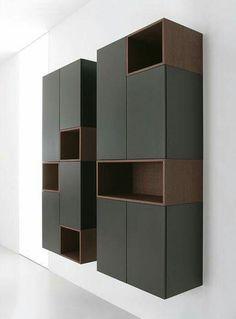 Diy Furniture Kitchen Storage - New ideas Bathroom Furniture, Wood Furniture, Furniture Design, Custom Furniture, Shelf Design, Cabinet Design, Wardrobe Design, Office Interiors, Furniture Making