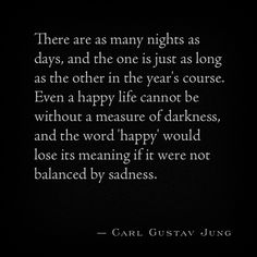 Carl gustav jung. Night & day quote