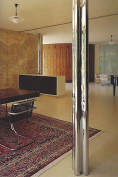 Mies van der Rohe - Tugendhat house, 1930