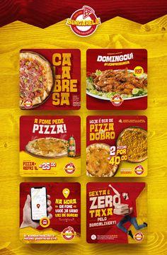 Burgarella | Social Media on Behance Social Media Poster, Social Media Branding, Social Media Banner, Social Media Template, Social Media Design, Food Graphic Design, Menu Design, Graphic Design Posters, Food Design