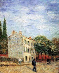 Vincent van Gogh. The Rispal Restaurant at Asnières. Summer 1887